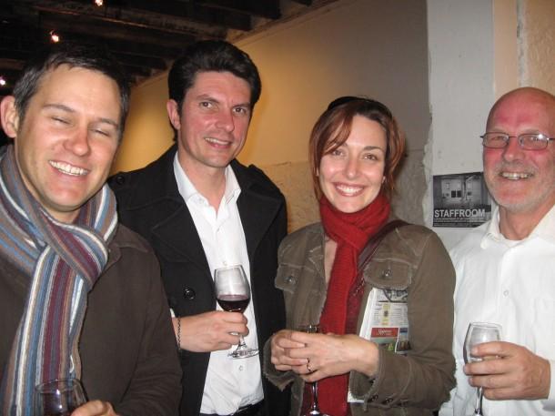Brad Pettitt, Scott Ludlam, Rachel Pemberton and  Doug Thompson