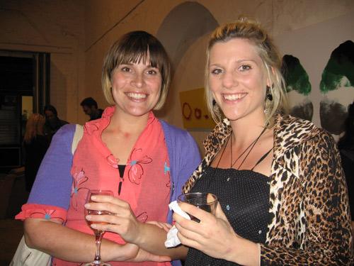 Jessica Coates and  Sophie Coates