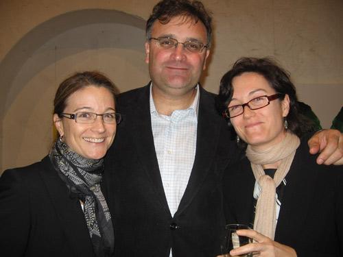 Rachel Colgan, Steve Boni and  Philippa Colgan