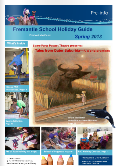 School holiday activities cover