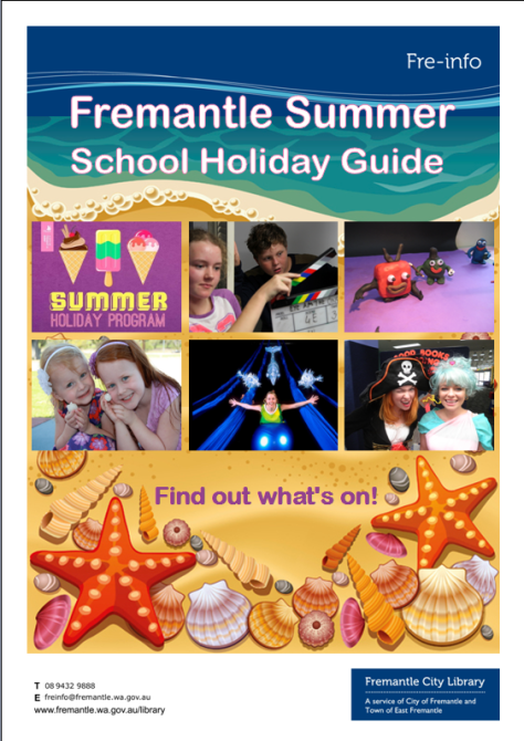 Holiday guide cover