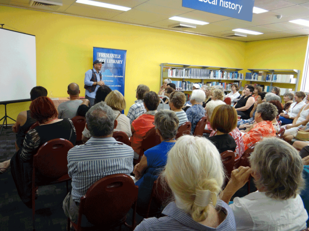 Emmanuel Mollois at Fremantle City Library