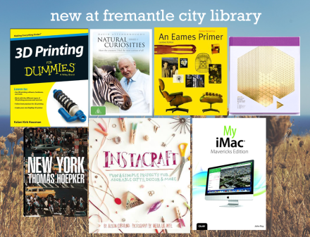 New at Fremantle City Library