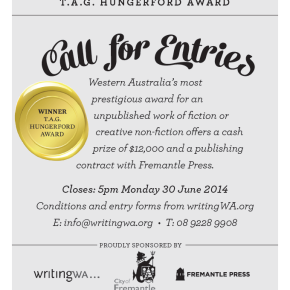Enter the 2014 City of Fremantle T.A.G. Hungerford Award