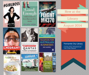 New at the Library August2014