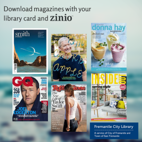 New – download magazines withZinio