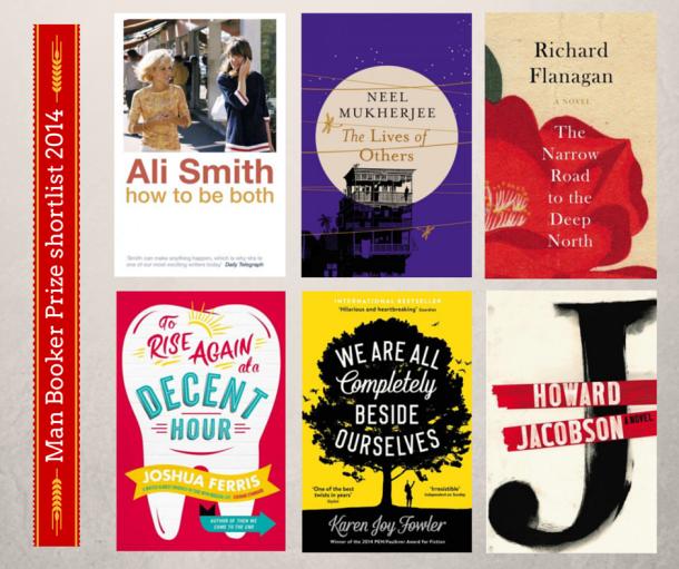 Man Booker Prize shortlist 2014