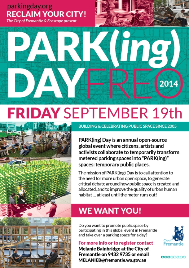 ParkingDay2014-Fremantle-call-for-participants A5