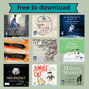 New audiobooks to download