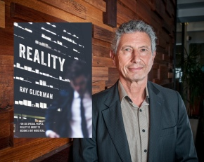 """Ray Glickman's novel 'Reality' is """"compelling, thought-provoking and darklyfunny"""""""