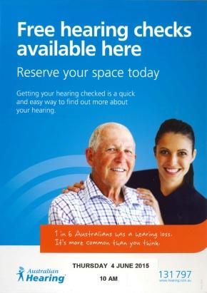 Australian Hearing tests June2015