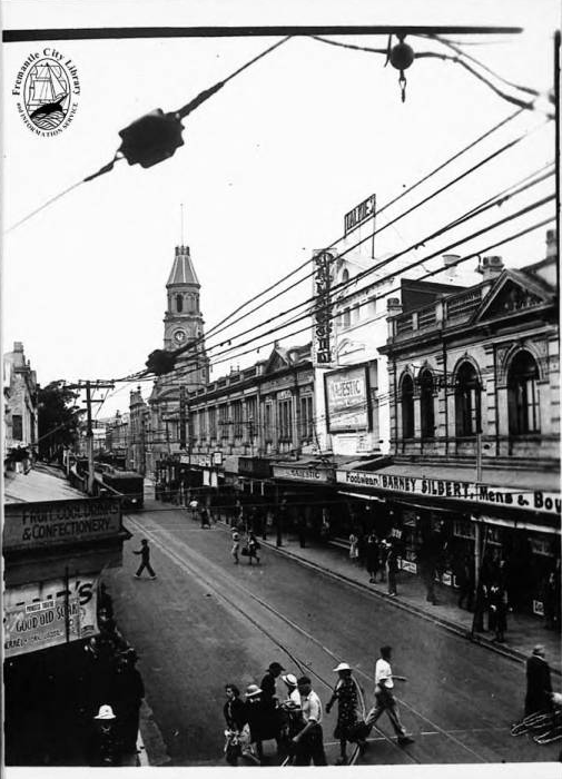High Street, Fremantle, looking east.