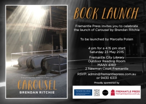Book launch – Carousel by BrendanRitchie