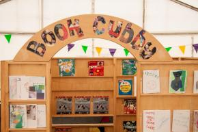 Make your own book at the Book Cubby