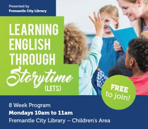 Learning English Through Storytime program bookings nowopen