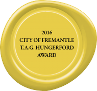 2016 City of Fremantle T.A.G. Hungerford Award submissions nowopen