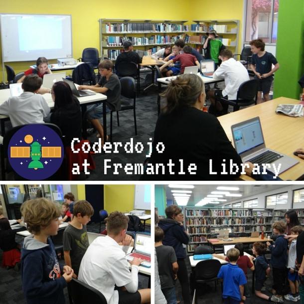 Coderdojo at Fremantle Library
