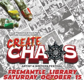 Create Chaos – Artist and Writer Festival