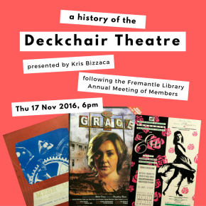 Hear about the history of DeckchairTheatre