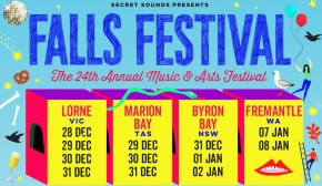 Library closure for Falls Festival and alternate opening locations